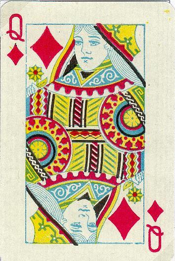 Trionfi Cards: D01596