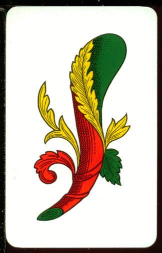 D04981 for Due di bastoni carte napoletane